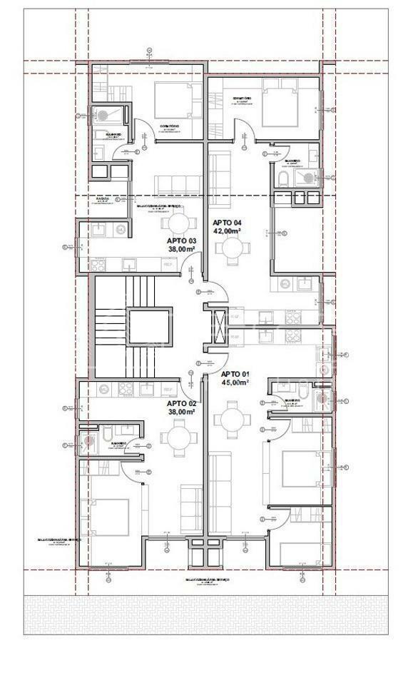 Apartamento com 1 Dormitórios à venda, 38 m² por R$ 288.000,00