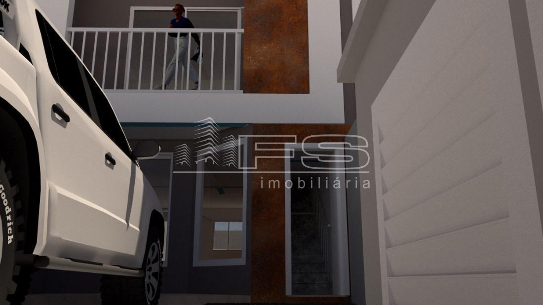 Casa com 2 Dormitórios à venda, 46 m² por R$ 360.000,00