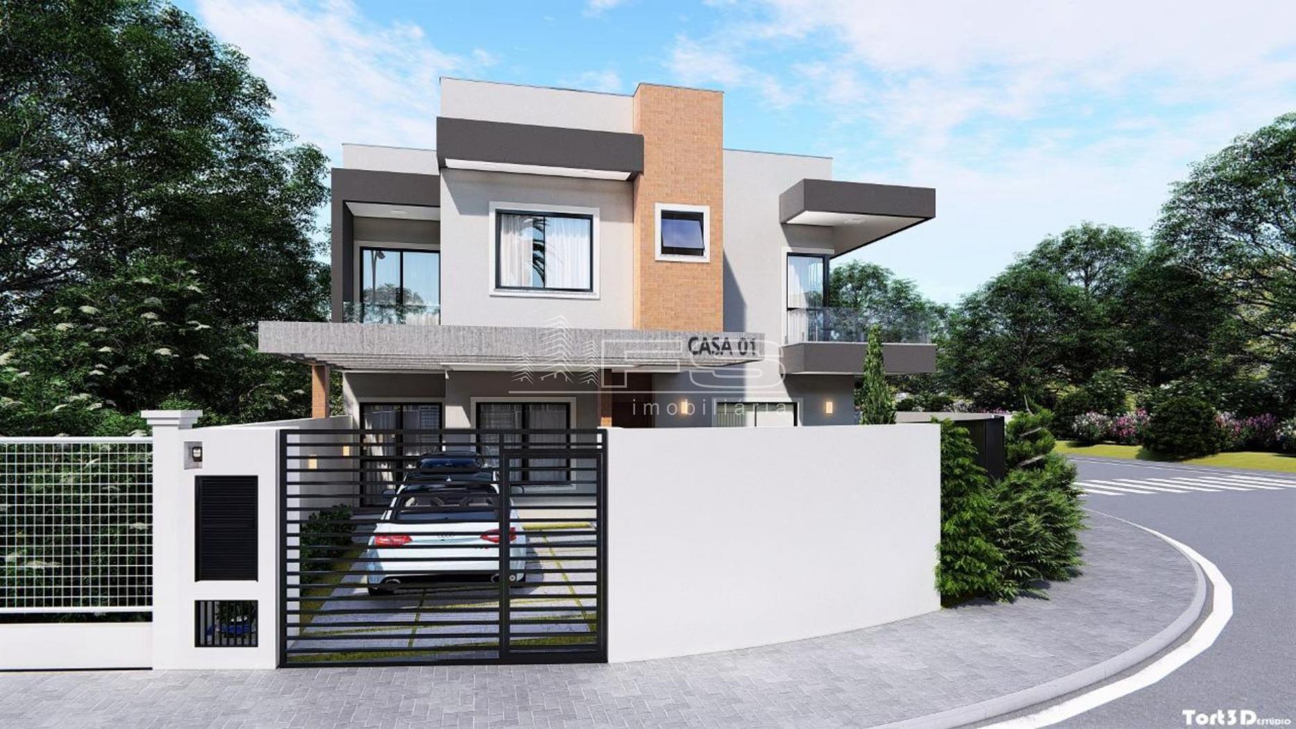 Casa com 3 Dormitórios à venda, 106 m² por R$ 475.000,00