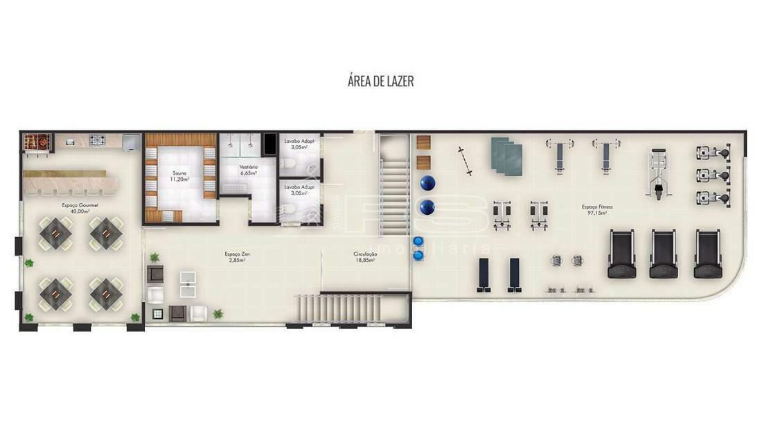 Apartamento com 2 Dormitórios à venda, 64 m² por R$ 690.867,00